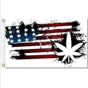 American Herb Flag Tapestry